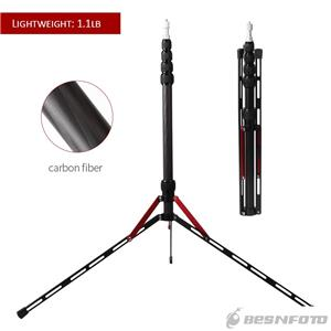 Carbon Fiber Light Stand Tripod 240cm